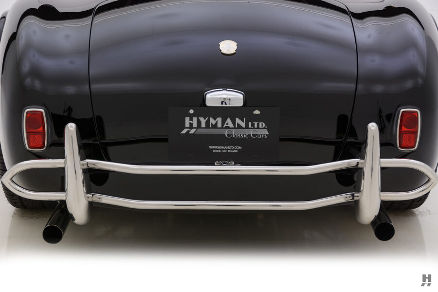 back of classic 1962 shelby cobra car for sale online at Hyman