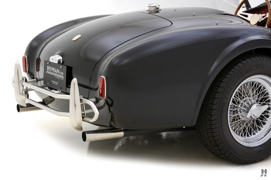back of classic 1962 shelby cobra car for sale online at Hyman dealers in St. Louis
