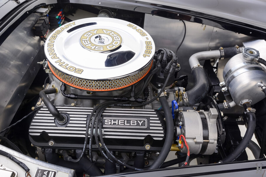engine of classic 1962 shelby cobra for sale online at Hyman
