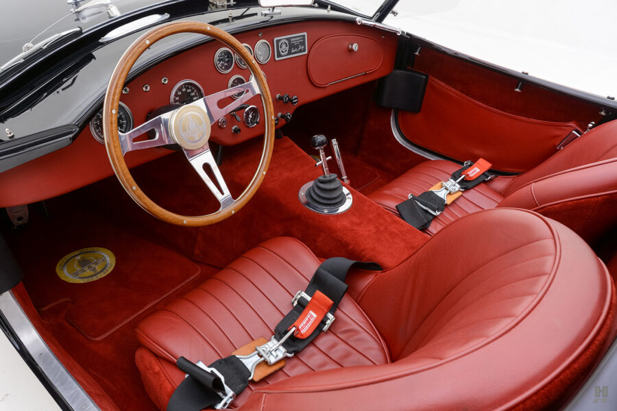front seats in vintage 1962 shelby cobra car for sale at hyman