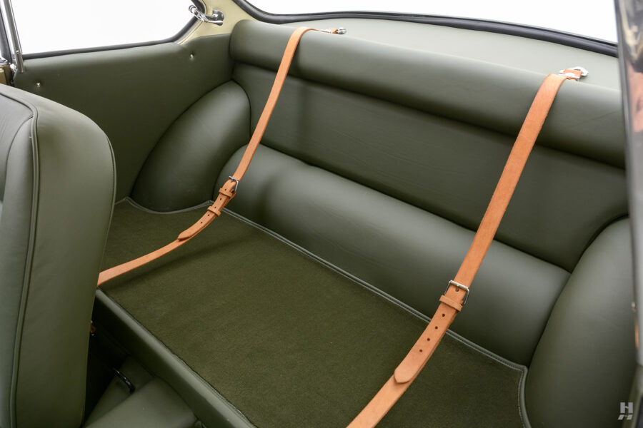 back seats of vintage 1961 abarth coupe for sale at hyman