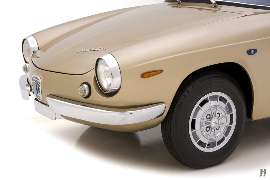 front of vintage 1961 abarth coupe car for sale at hyman