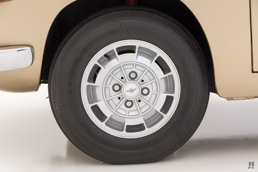 back tire on vintage abarth coupe for sale at hyman