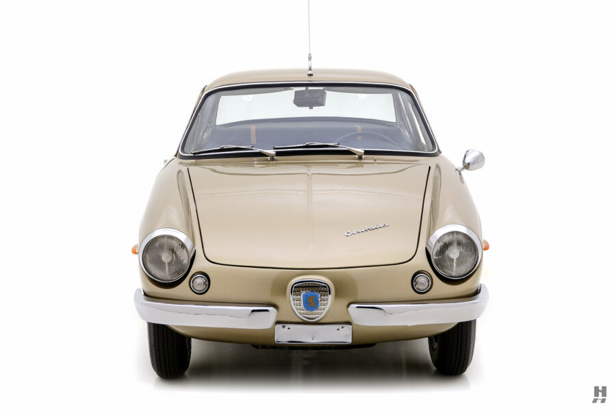 front of classic 1961 abarth coupe car for sale