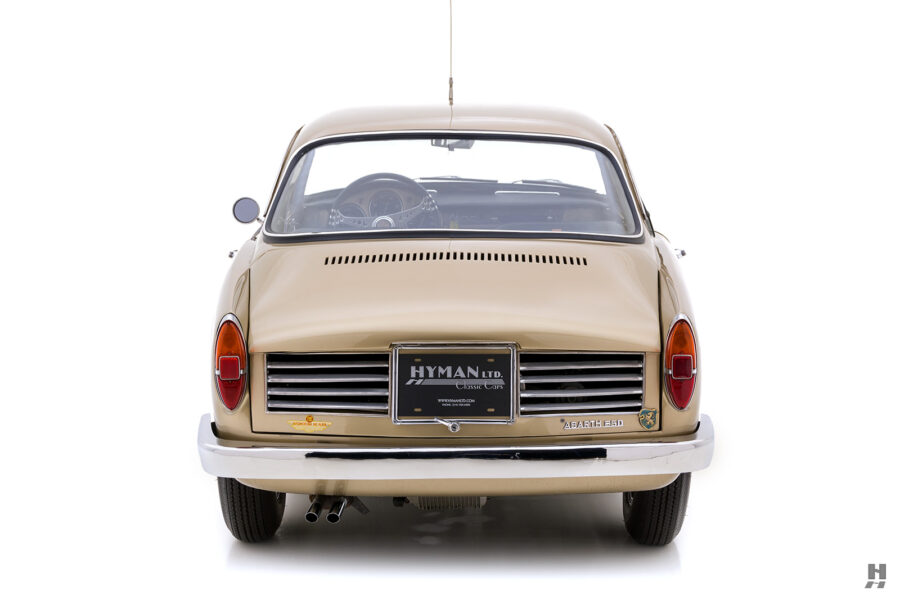 back of classic 1961 abarth coupe car for sale