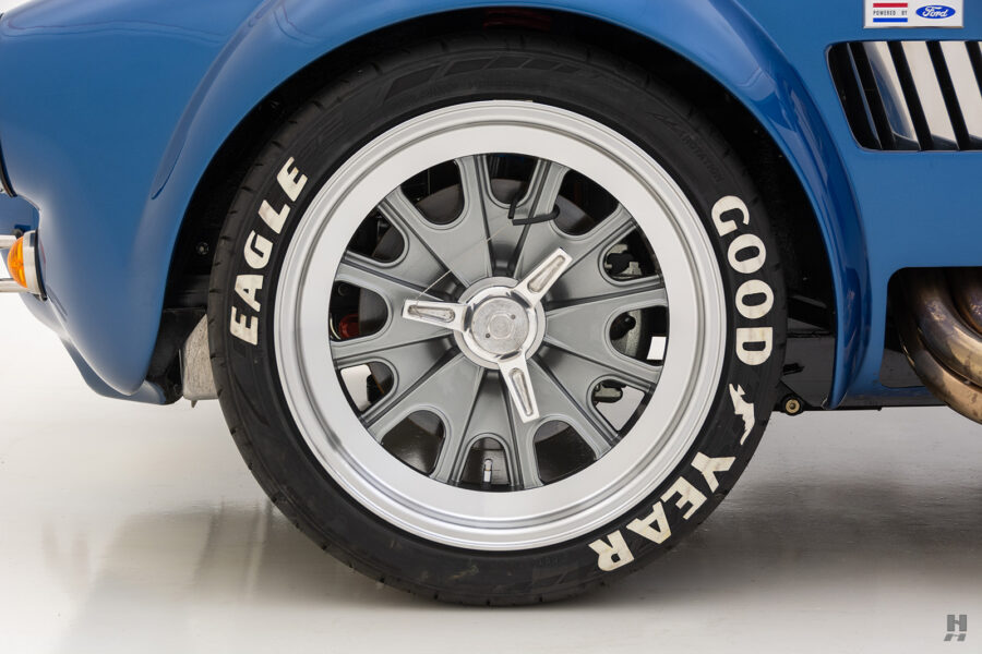back tire on vintage 1965 backdraft cobra from hyman classic cars