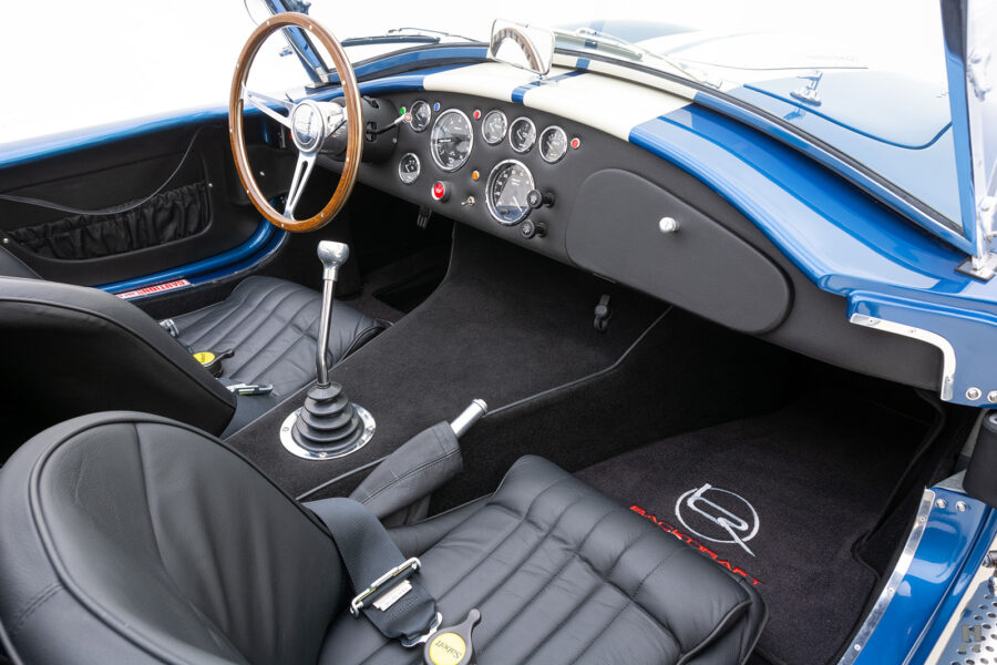 front seats on rare backdraft cobra for sale at hyman classic cars