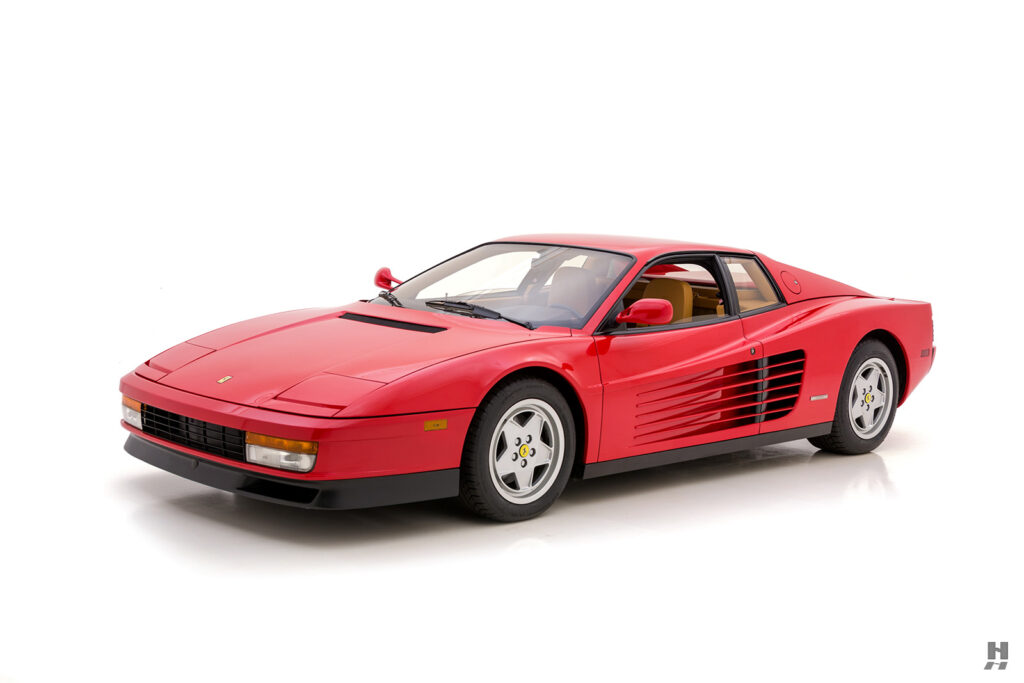 angled frontside view of classic 1990 ferrari for sale - find the price online