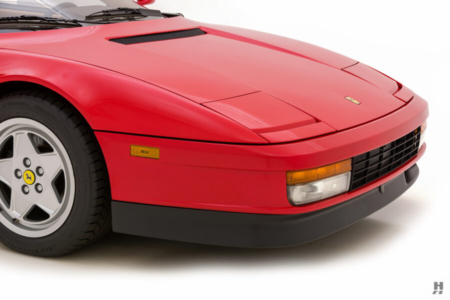 front side of classic 1990 ferrari testarossa for sale - find more historic cars at hyman