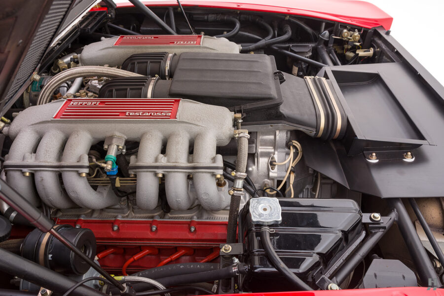 engine on classic 1990 ferrari for sale - find more historic cars at hyman dealers online
