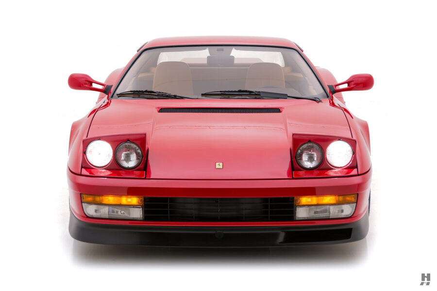 front of old classic 1990 ferrari car for sale at hyman - find the price online
