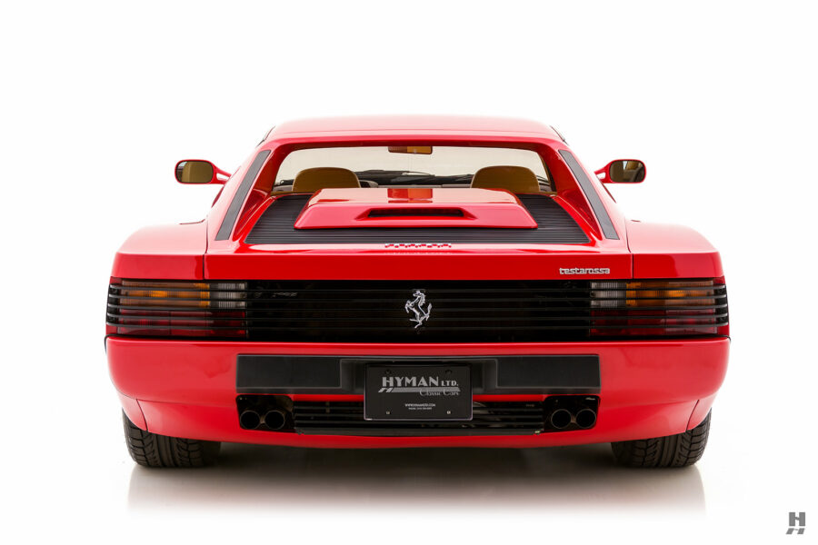 back of old classic 1990 ferrari car for sale at hyman - find the price online