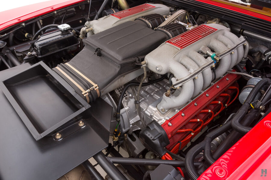 engine on classic 1990 ferrari testarossa for sale - find more historic cars at hyman