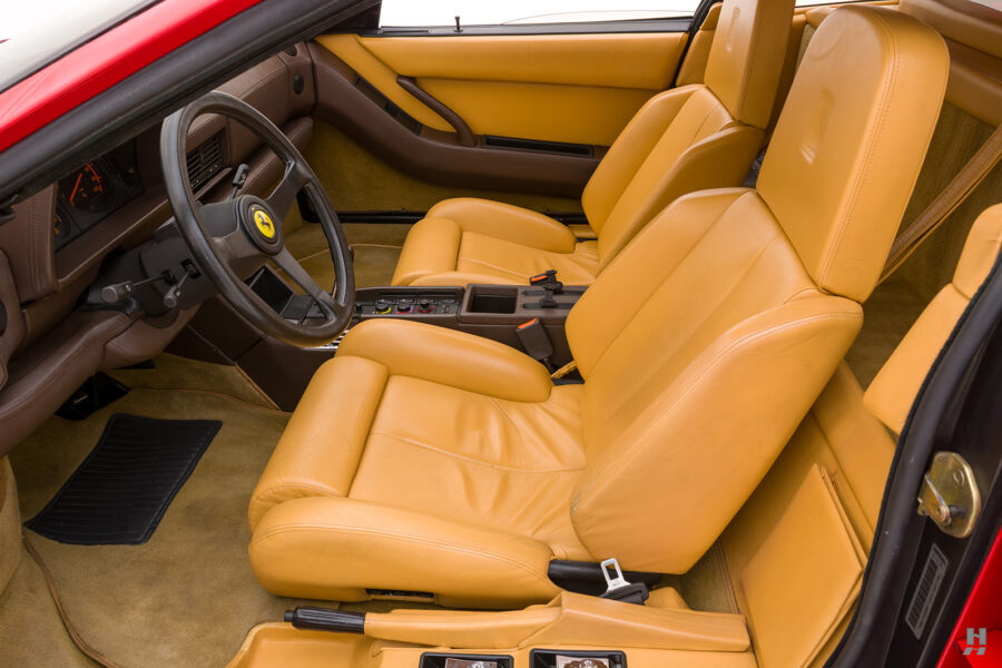 front seats of classic 1990 ferrari testarossa for sale - find more historic cars at hyman