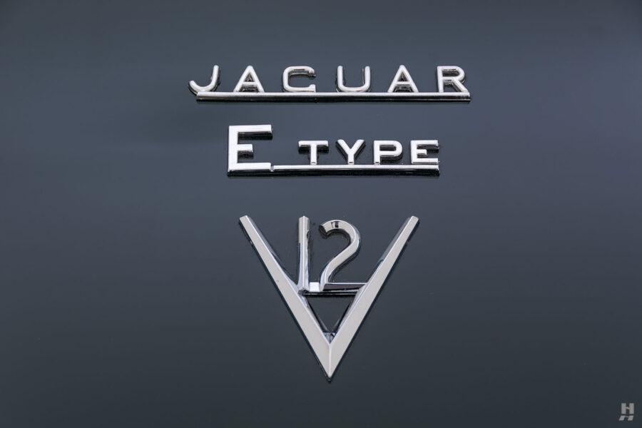 logo of vintage jaguar roadster for sale at hyman classic cars
