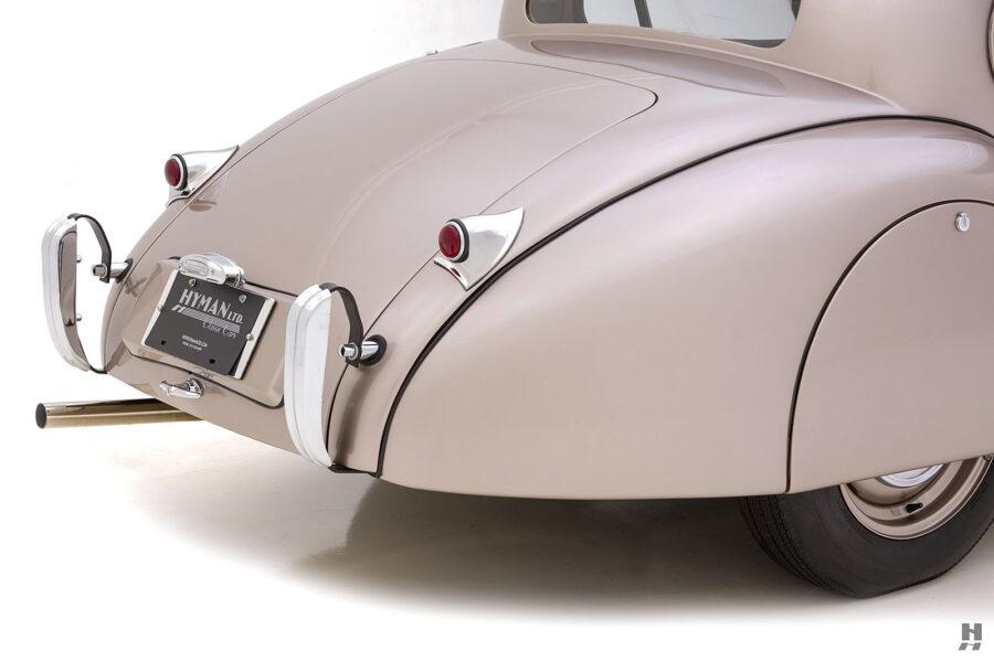 side of antique jaguar coupe for sale at hyman classic dealers