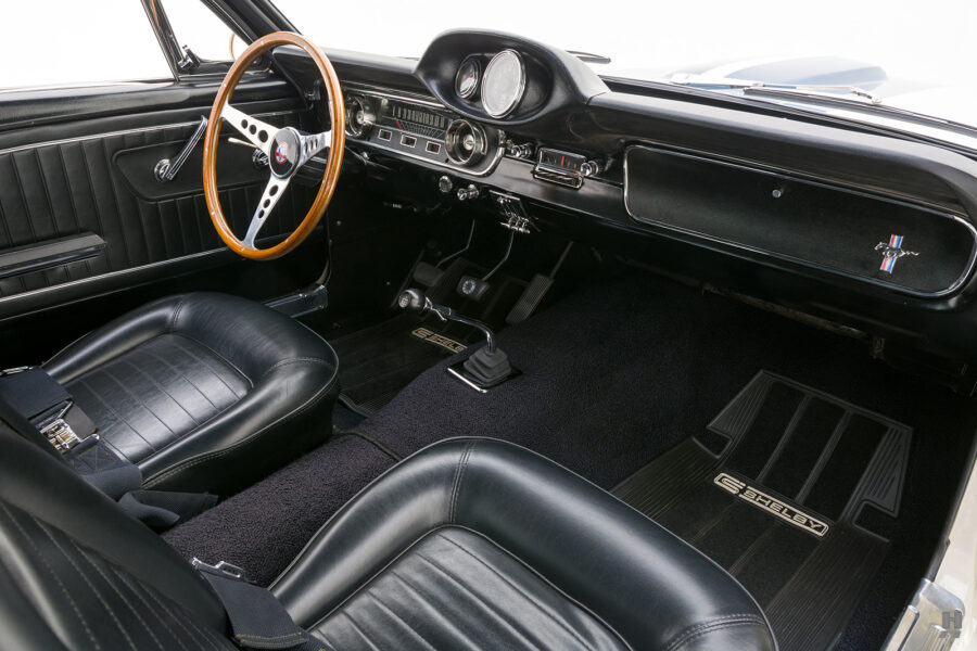 front seats of vintage 1965 shelby gt350 for sale at hyman consignment dealers