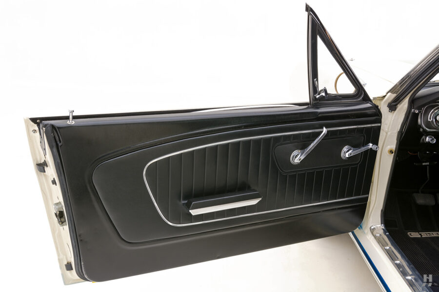 driver's side door on unique 1965 shelby gt350 for sale at hyman consignment dealers