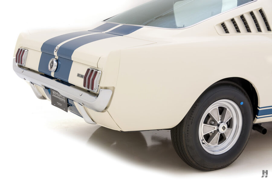 angled back view of vintage 1965 shelby for sale - find more cars at hyman