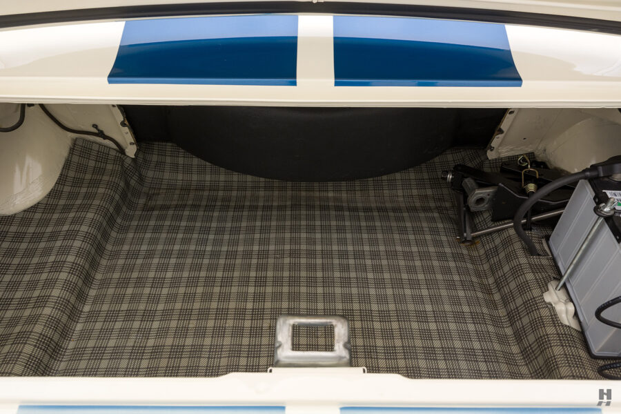 trunk bed of old shelby car for sale at hyman dealers