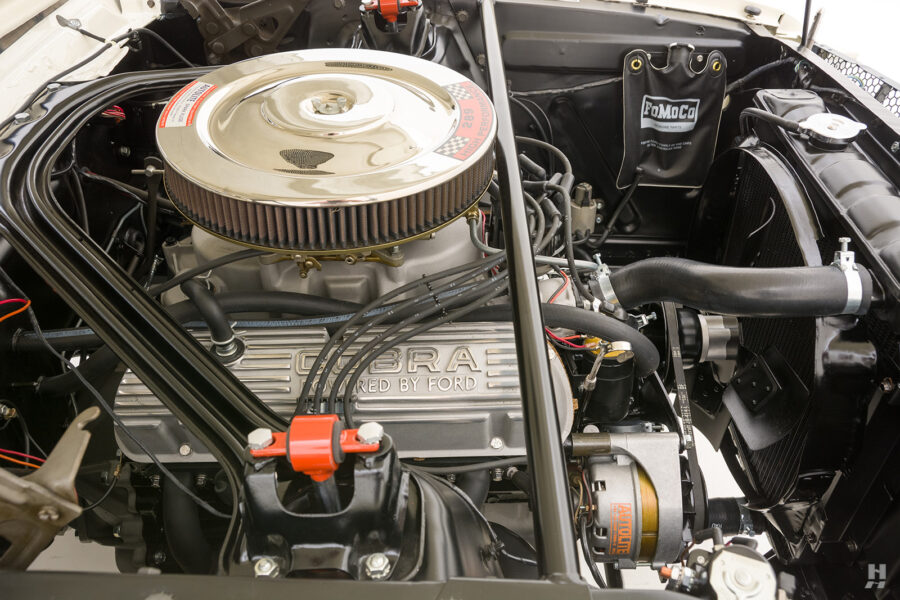 engine of classic 1965 vintage Shelby car for sale at Hyman dealers