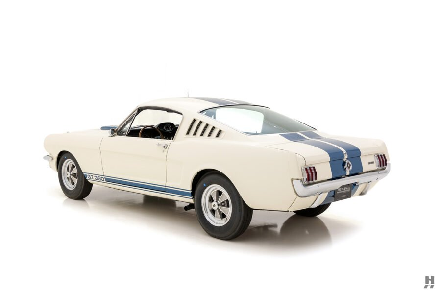 angled back view of classic 1965 shelby car for sale online