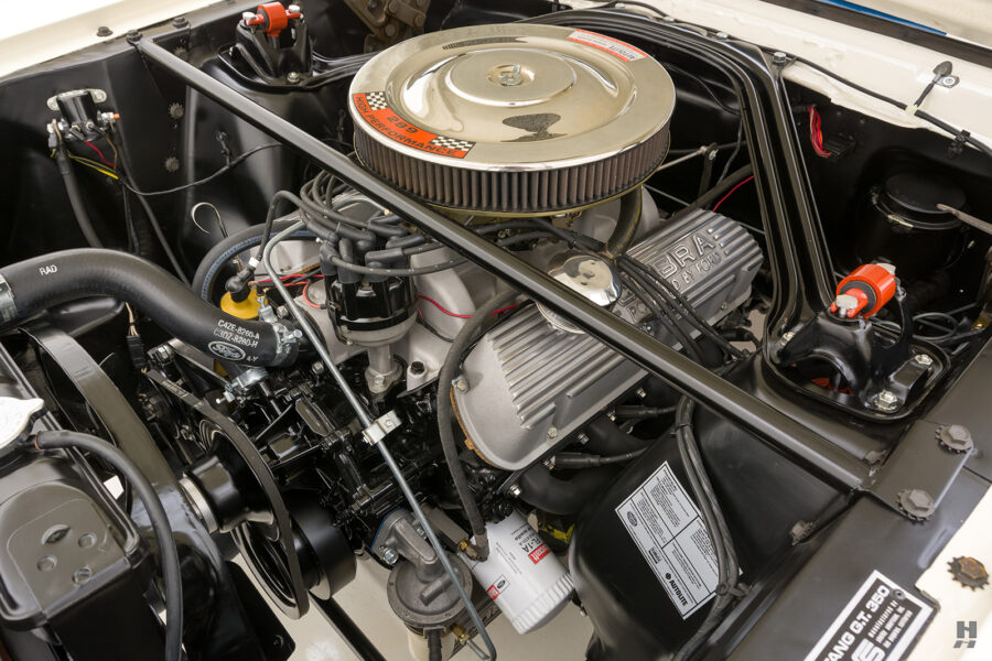 engine of classic 1965 shelby gt350 - for sale at hyman dealers in the midwest