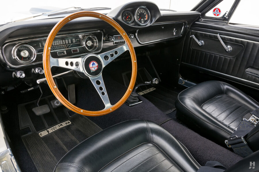 steering wheel and dashboard on vintage 1965 shelby gt350 for sale - find more cars at hyman consignment dealers